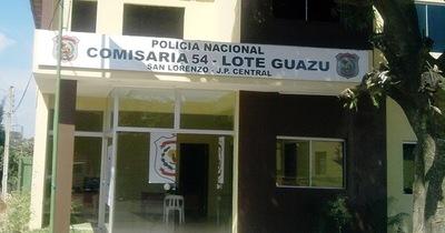Seis presos se fugaron de una comisaría de Lote Guazu