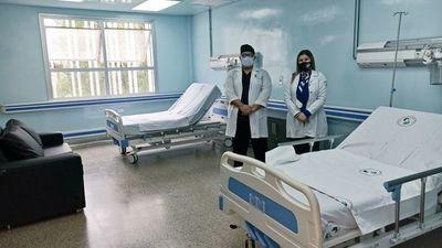 Habilitan 6 camas para tratamiento con plasma en el Integrado