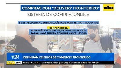 """""""Delivery fronterizo"""": Aduanas definirá centros de comercio en la frontera"""
