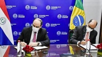Paraguay y Brasil firman acuerdo para reactivar el comercio fronterizo y paliar la crisis