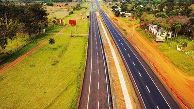 Pedirán la habilitación de los primeros 3 km que ya se duplicaron de la ruta PY02