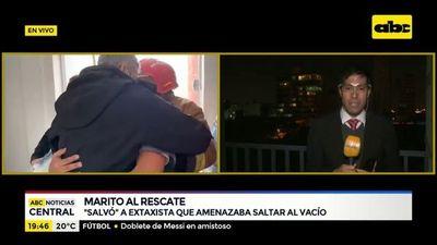 """Cuál es el antecedente del """"salvado"""" de Marito"""