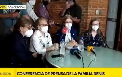 Familia de Denis asegura que cumplió con la exigencia del EPP