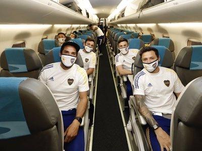 Boca Juniors ya está en Paraguay