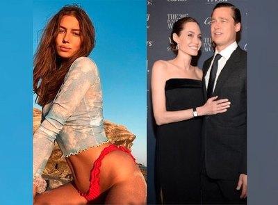 Crónica / ¿Nueva yiyi de Brad Pitt atendió a Angelina Jolie?