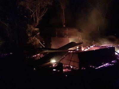 Desconocidos incendian establecimiento agroganadero en Horqueta