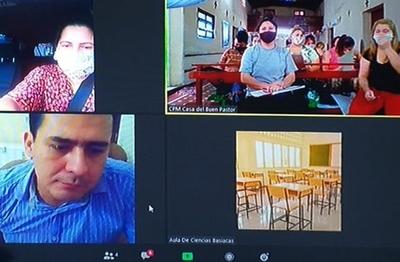 En Buen Pastor retoman clases de educación media vía online