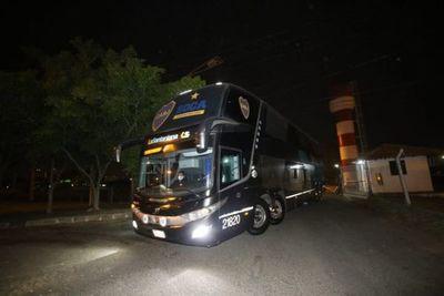 Sin Miguel Ángel Russo, Boca Juniors llegó a Paraguay