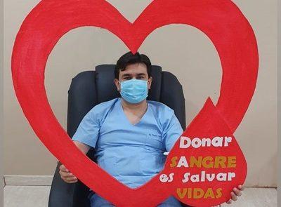 Dr. Danilo Cascán, es otro médico que dona plasma para curar a más pacientes de Covid – Diario TNPRESS