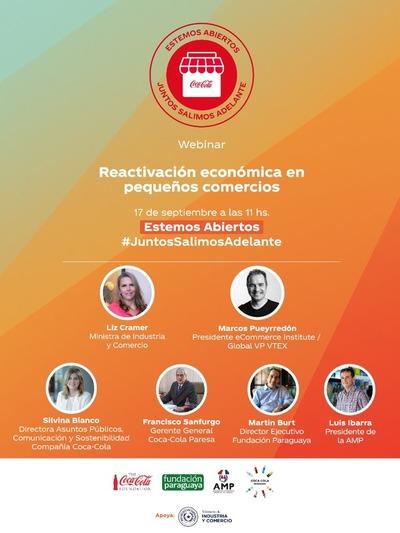 Coca-Cola Paraguay lanza programa de reactivación económica y social para pequeños comercios