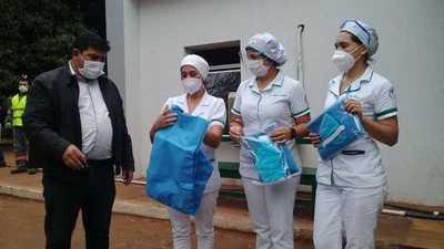 Entregan equipos de bioseguridad al hospital polivalente de Coronel Oviedo – Prensa 5
