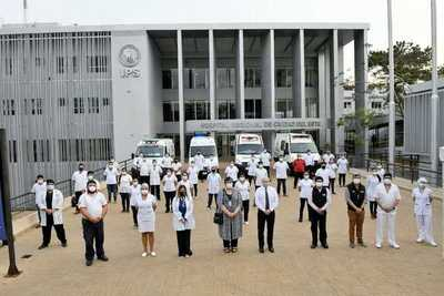 Mediante apoyo de ITAIPU se suman 44 paramédicos para lucha contra el COVID-19 en Alto Paraná