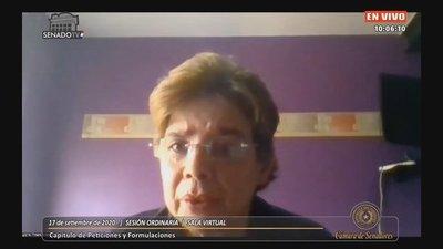 Delirante Desirée Masi afirma que se quiere sacar a Friedmann para que jure Cartes