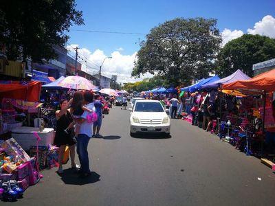 """Piden desocupación de las zonas públicas de Asunción: """"Las áreas libres son de los ciudadanos, no de los comerciantes"""""""