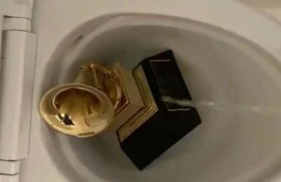 El video de Kanye West orinando sobre un Grammy que desconcertó al mundo de la música