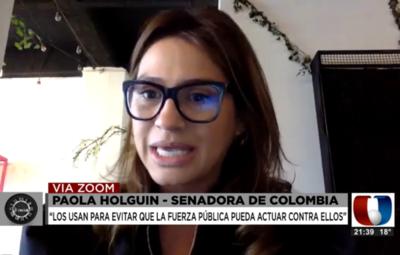 """Grupos criminales usan a niños como """"carne de cañón"""", según legisladora colombiana"""