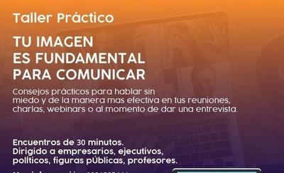 HOY / La imagen es fundamental para comunicar: taller para lucirse en los encuentros