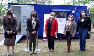 Habilitan telecentro con conectividad para mujeres de Alto Paraná