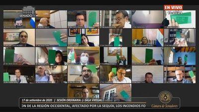 """Senado declara a Boquerón en """"situación de emergencia ambiental"""""""