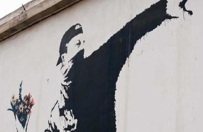 El anonimato le cuesta a Banksy una de sus obras más icónicas