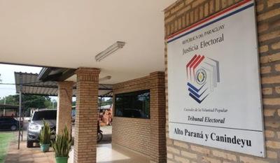 49 movimientos políticos de Alto Paraná piden ser reconocidos para elecciones municipales