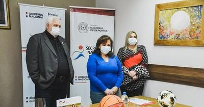 La Nación / SND: Itapúa celebra llegada de proyectos deportivos