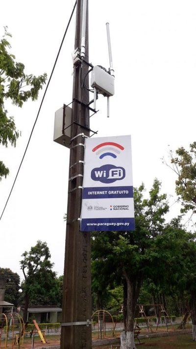 MITIC: Instalan wifi gratuito en una plaza de Canindeyú, que beneficiará a 8.000 pobladores