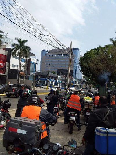 Trabajadores en moto se organizaron y fundarán sindicato