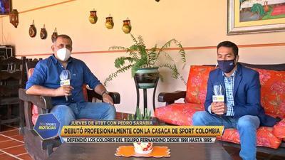 """Pedro Sarabia: """"El 90% de los jugadores empezamos de abajo"""""""