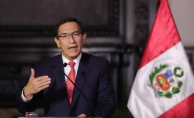 HOY / Presidente de Perú será sometido a juicio político