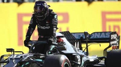 Hamilton se queda con la pole en Italia
