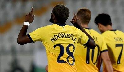 Tottenham, Milan y Granada avanzan en la Europa League