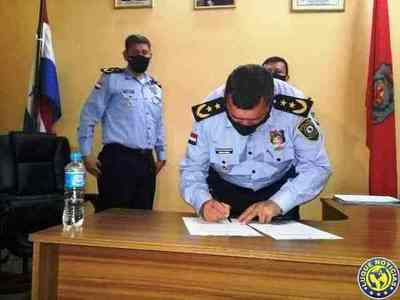 Caazapá cuenta con nuevo director de Policía •