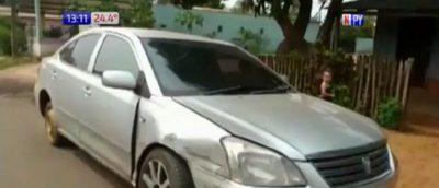 Recuperó su auto robado luego de que 'preste' a mujeres