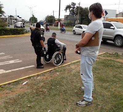 Altercado entre militares paraguayos y un agente federal brasileño en Pedro Juan