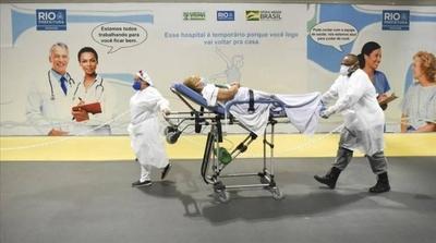 HOY / Brasil suma 829 muertes por el COVID-19 en 24 horas