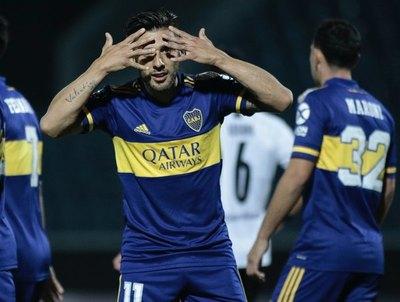 Boca jugó 187 días después y ridiculizó a Libertad