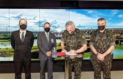 Itaipú y Ejército de Brasil acuerdan reforzar controles