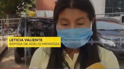 Familia no cree en el resultado positivo de Adelio Mendoza