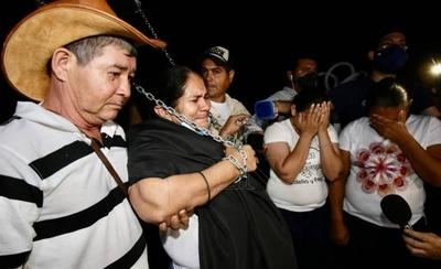 HOY / Abdo no visitó a madre de Edelio en su paso por Concepción