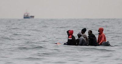 """La Nación / """"Dios, el mar y nosotros"""": crónica de una travesía del Canal de la Mancha"""