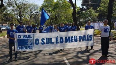 En el Sur del BRASIL quieren formar un  NUEVO PAIS