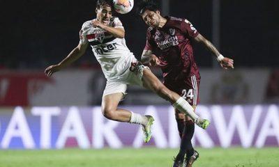 En partidazo, São Paulo y River igualaron 2-2