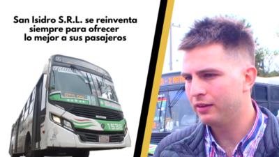 San Isidro S.R.L. se reinventa siempre para ofrecer lo mejor a sus pasajeros