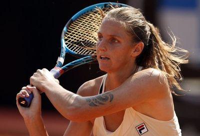 Karolina Pliskova avanzó a los cuartos de final en Roma