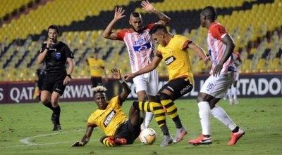 El paraguayo Cristian Colmán marcó en la derrota copera del Barcelona