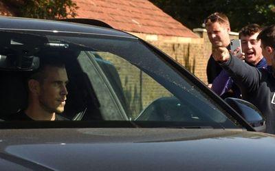 Gareth Bale llegó a Londres para oficializar la vuelta al Tottenham