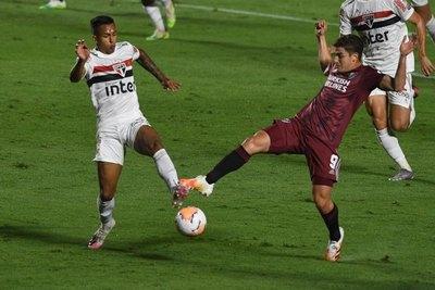 Con Robert Rojas en la banca, River Plate empató con San Pablo