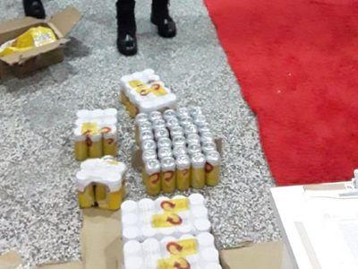 Guardiacárceles detenidos por hacer vista gorda en ingreso de birra al penal