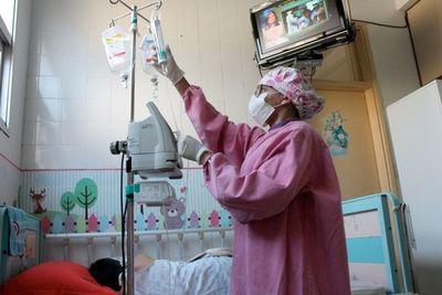 El 10% de los niños atendidos por COVID-19 en Acosta Ñu van a terapia
